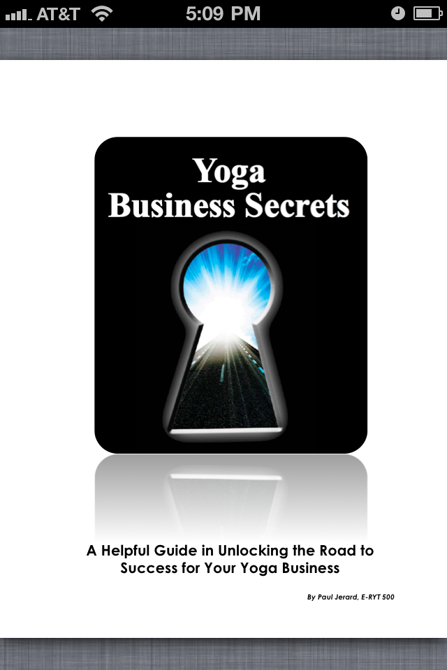 Yoga Business Secrets for Yoga Teachers
