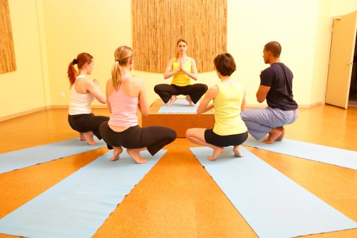 teaching yoga classes as a life choice
