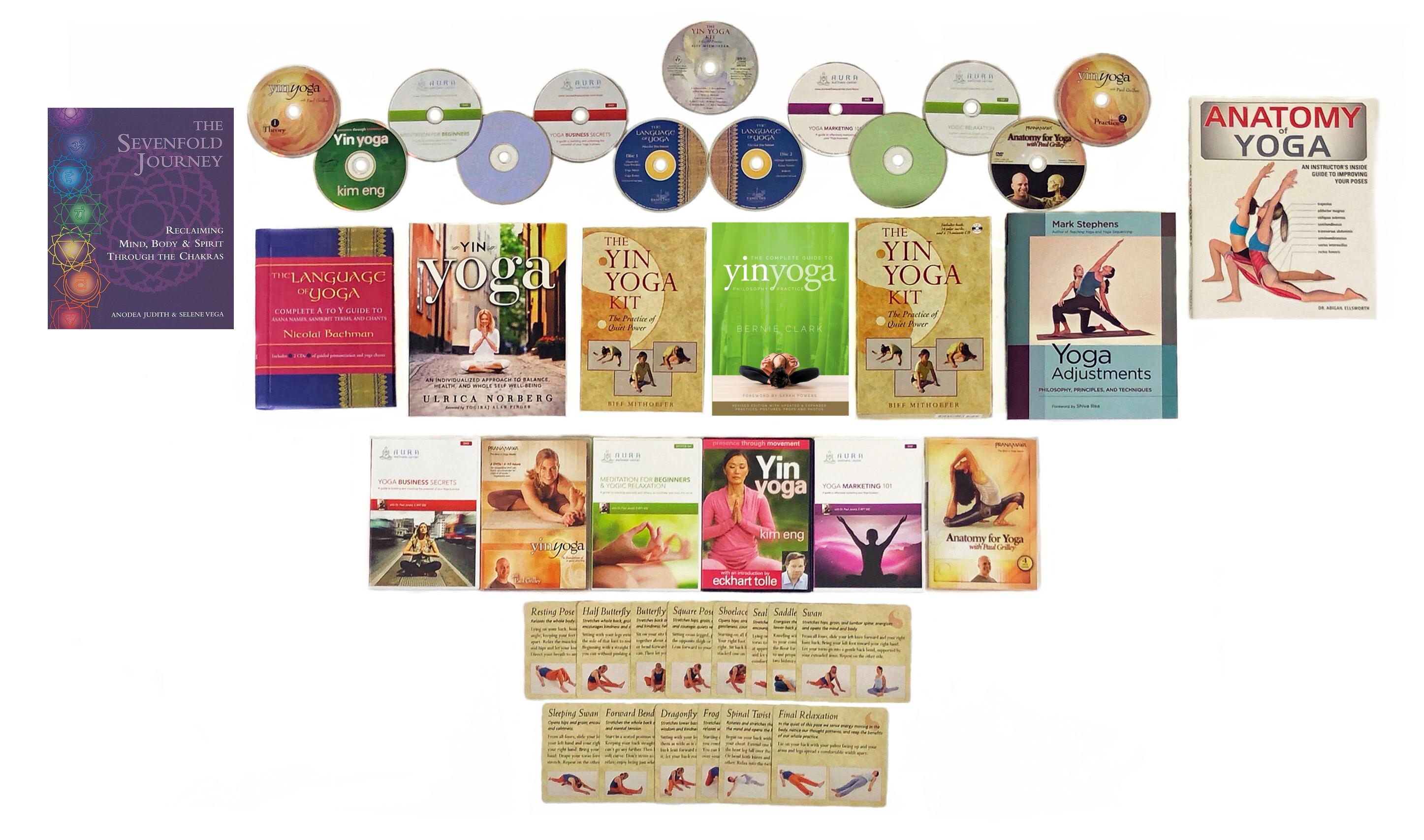 Yin Yoga Teacher Training Camp-in-a-Box – Level 1 (PLATINUM)