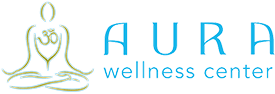 Aura Wellness Center – Yoga Instructor Certification Logo