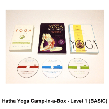 Hatha Yoga Camp-in-a-Box - Level 1 (BASIC)