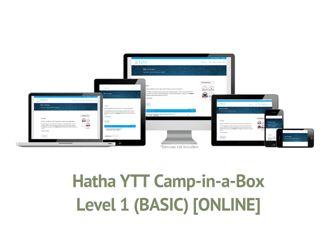 Hatha YTT Camp-in-a-Box – Level 1 (BASIC) [ONLINE]