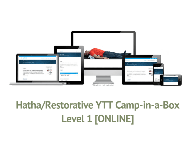 Hatha/Restorative YTT Camp-in-a-Box – Level 1 [ONLINE]